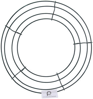 "Panacea 36002 Wire Wreath Frame-10"" (10Pk)"