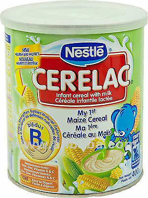 Nestlé Cerelac Infant Cereals  Maize *Baby Food* 400g new sealed ONLY 1