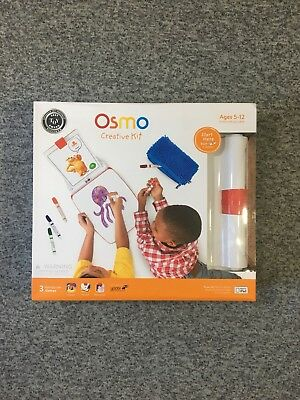 New Osmo Creative Kit with Monster Game iPad base and 3 Games included