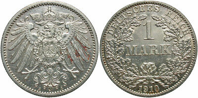 GERMANY: 1910-A 1 Mark #WC71360