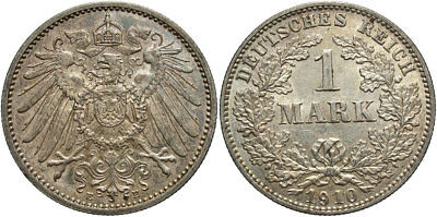 GERMANY: 1910-E 1 Mark #WC71361