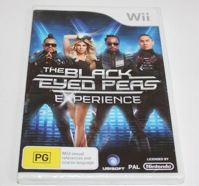Nintendo Wii The Black Eyed Peas Experience Game