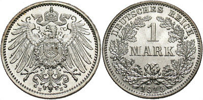 GERMANY: 1915 E 1 Mark #WC69583