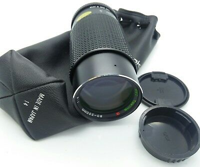 CONTAX fit Tokina zoom 80-200mm constant f4 Lens in EXCELLENT for SLR/DSLRs