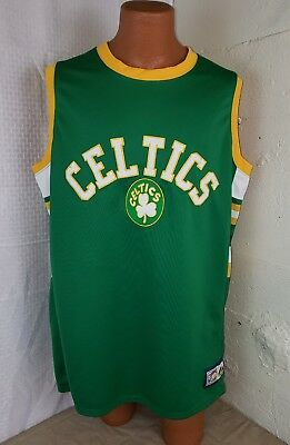 b889bba895d499 Boston Celtics Jersey Tank Hardwood Classics Majestic Vintage Adult XL Green