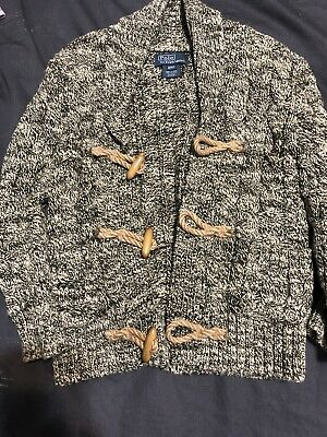 Polo Ralph Lauren Boys Toggle Sweater Size 4/4T