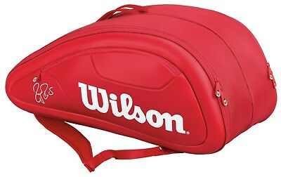 Wilson Federer DNA 12 pack Red bag