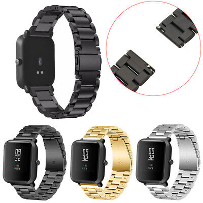 New Stainless Steel Bracelet Watch Band Strap For Xiaomi Amazfit Bip Youth Watch