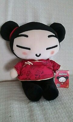 """NWT Pucca 10"""" Plush Doll by VOOZ Korean Label"""