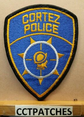 Cortez, Colorado Police Shoulder Patch Co
