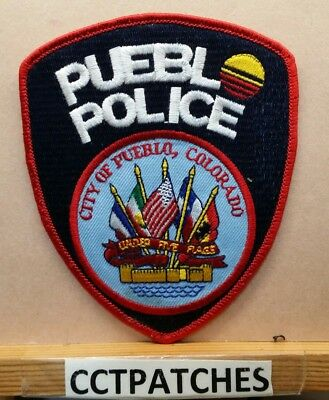 Pueblo, Colorado Police Shoulder Patch Co