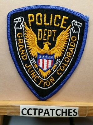GRAND JUNCTION COLORADO CO POLICE STYLE #1 PATCH