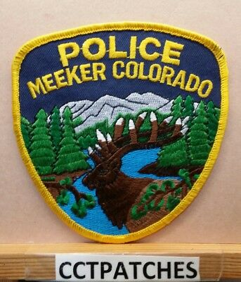 Meeker, Colorado Police Shoulder Patch Co