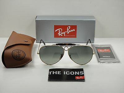 fd017f6bbc RAY-BAN SHOOTER HAVANA Sunglasses Rb3138 181 71 Gold Frame grey Lens ...