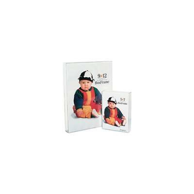 """New Mcs Original Clear Acrylic Box Picture Frame For A 8X10"""" Photograph"""