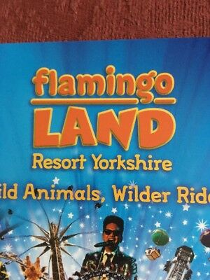Flamingo Land Resort Theme Park Discount Voucher 3 For 2 Valid All Season