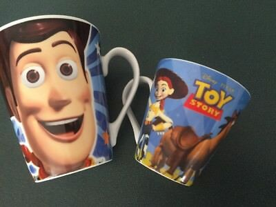 2 X Toy story And Toystory 3 -  MUGS Brand New Children's Cup Kids Large Small