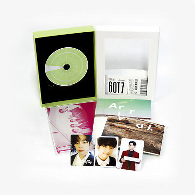 [GOT7]FLIGHT LOG:ARRIVAL Never-Ever got7 album Ever Version/JINYOUNG PHOTOCARDS