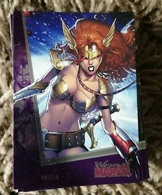 Women of Marvel Series 2 Cards, Complete x90 Cards 2013 Rittenhouse, Purple Foil