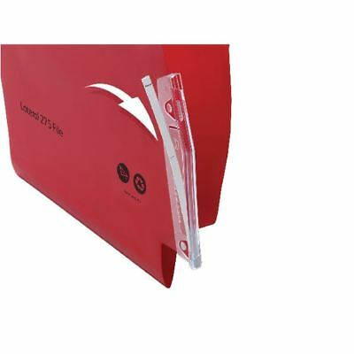 Rexel Crystalfile Lateral 275 Filing Tabs (Pack of 50) 78365 [TW78365]