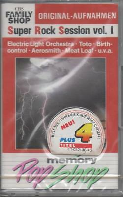 Super Rock Session Vol. 1 MC Musikkassette NEU Electric Light Orchestra Toto uvm