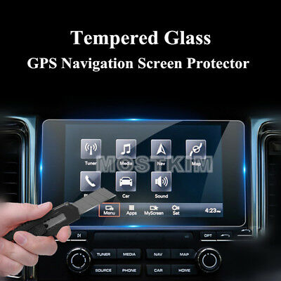 Tempered Glass GPS Navigation Screen Protector For Porsche Macan 2017-2018
