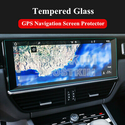 Tempered Glass GPS Navigation Screen Protector For Porsche Cayenne 2018