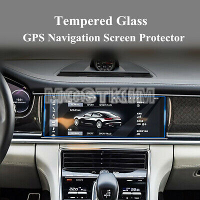 Tempered Glass GPS Navigation Screen Protector For Porsche Panamera 2017-2018