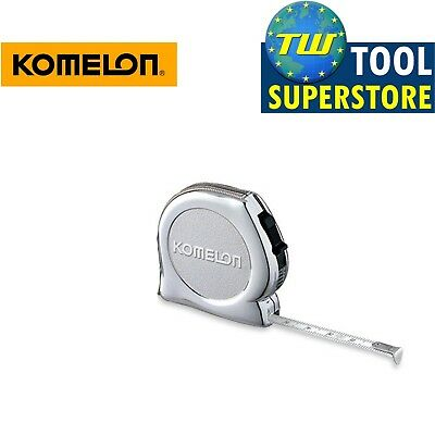 Komelon KeyMaster Mini Tape Measure & Carabiner KMC-74K Steel Pocket Key Ring 3M