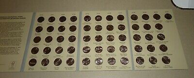2010 2019(to Date) National Park ATB Quarter Album P D Mix Set ~ 46 Unc 2nds