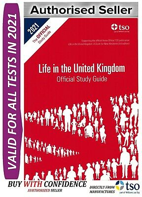 Life in the UK United Kingdom Official Study Guide 2018-STd