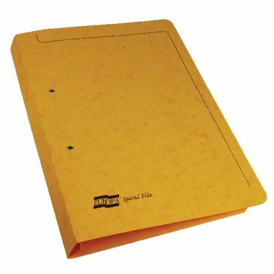 Europa Yellow Spiral File (Pack of 25) 3006 [GH03006]