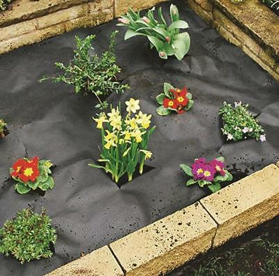 Weed Control Fabric Ground Cover Sheet Garden Plants Membrane Driveway Landscape