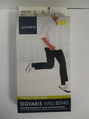 Sigvaris Well Being Casual Cotton Socks Size A White - Rc 6286