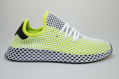 sports shoes c9278 693c6 ADIDAS deerupt Runner Verde   NERO b27779 Scarpe da Ginnastica Originals  UOMINI