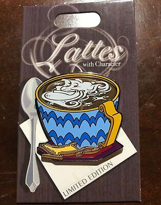 2018 Pin Of The Month Lattes With Character GENIE Disney LE3000 Aladdin