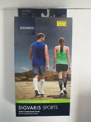 Sigvaris Sports Athletic Recovery Socks Size Small White - Rc 6299