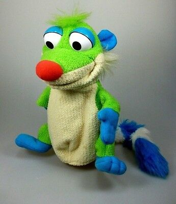 Bear in the Big Blue House Treelo Handpuppe  ca. 23 cm Jim Henson Mattel