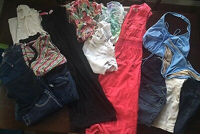 Huge Women's Summer Maternity Clothing Baby Lot! Must See!! Size M