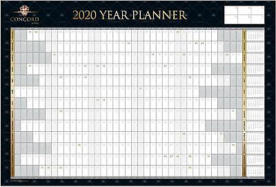 2019 Large Quality Calender Wall Hanging Planner Spiral Month To View Planner
