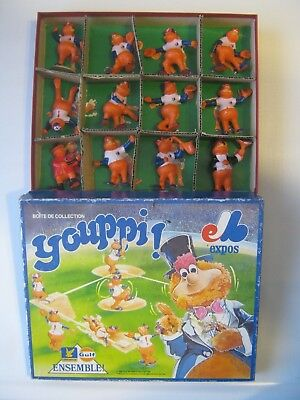 Montreal Expos Youppi 1986 Baseball 12 Gulf Official Figurines Set With Original