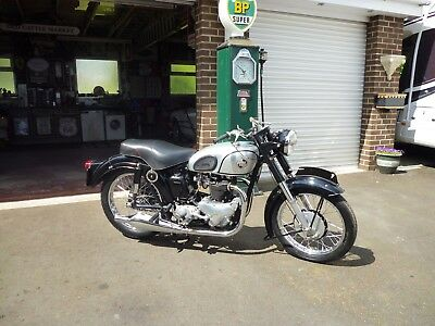 1955 Norton Dominator  7 Series 500Cc    Tax And Test Excempt