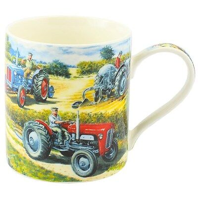 Vintage Tractor Mug Gift Boxed Farming Kitchen China Drinking Cup T20 Ford