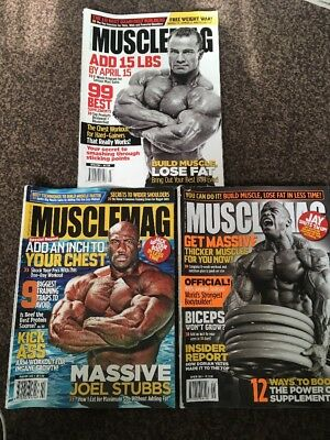 Musclemag Bodybuilding Magazine January-march 2010