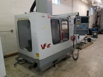 Used Haas VF-2 CNC Vertical Machining Center Mill VMC 30x16 4th Axis Ready 2000