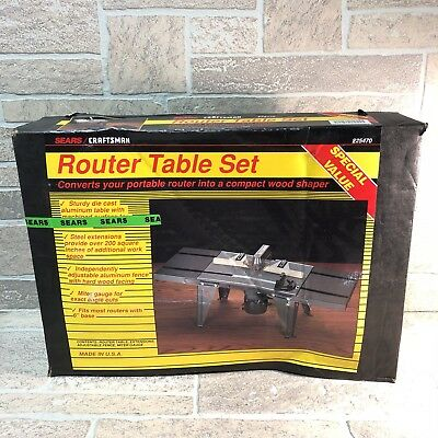 Sears craftsman router table with extensions model 9 25440 brand new sears craftsman router table with extensions model 9 25440 brand new in box keyboard keysfo Gallery
