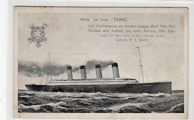 "WHITE STAR LINER ""TITANIC"": Shipping postcard (C33951)"