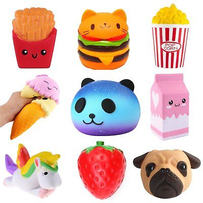 Jumbo Slow Rising Squishies Scented Squishy Squeeze Toy Reliever Stress Gift US