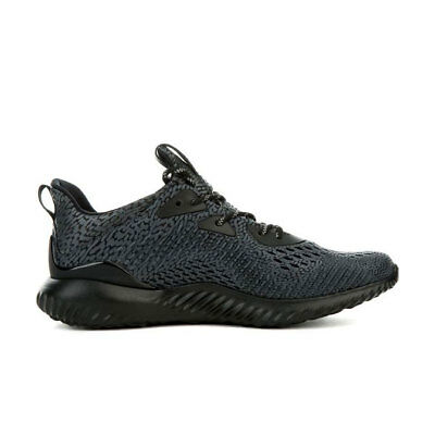 huge selection of b43f9 7a3c7 Adidas Mens Alphabounce AMS M Shoe NEW AUTHENTIC BlackBlack BW0428