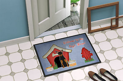 Dog House Collection Manchester Terrier Indoor or Outdoor Mat 24x36